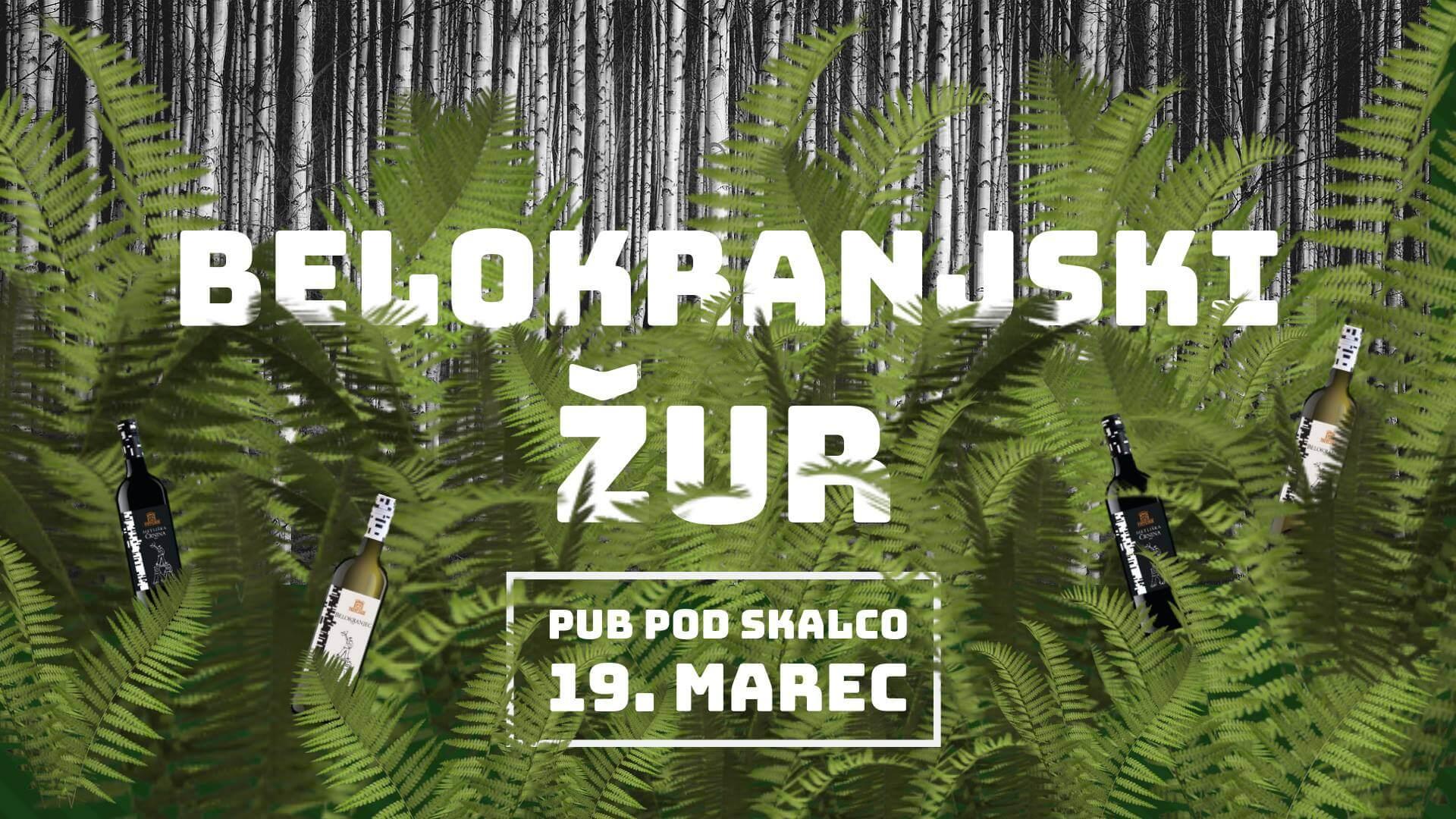 Belokranjski žur v Ljubljani